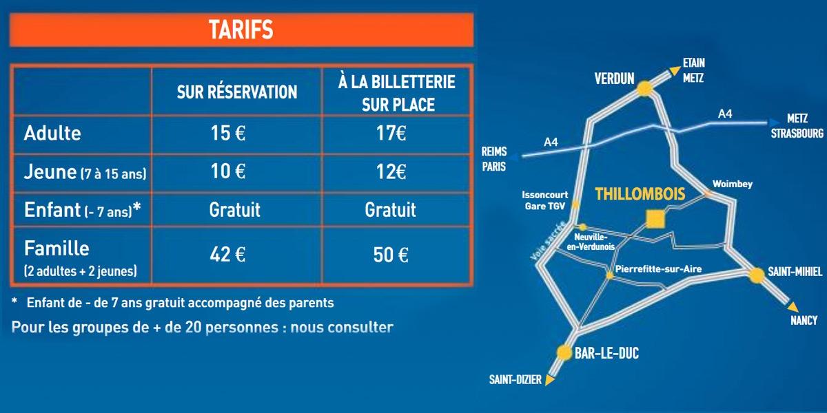 La Balade Merveilleuse au Château de Thillombois Tarifs et réservations 2021