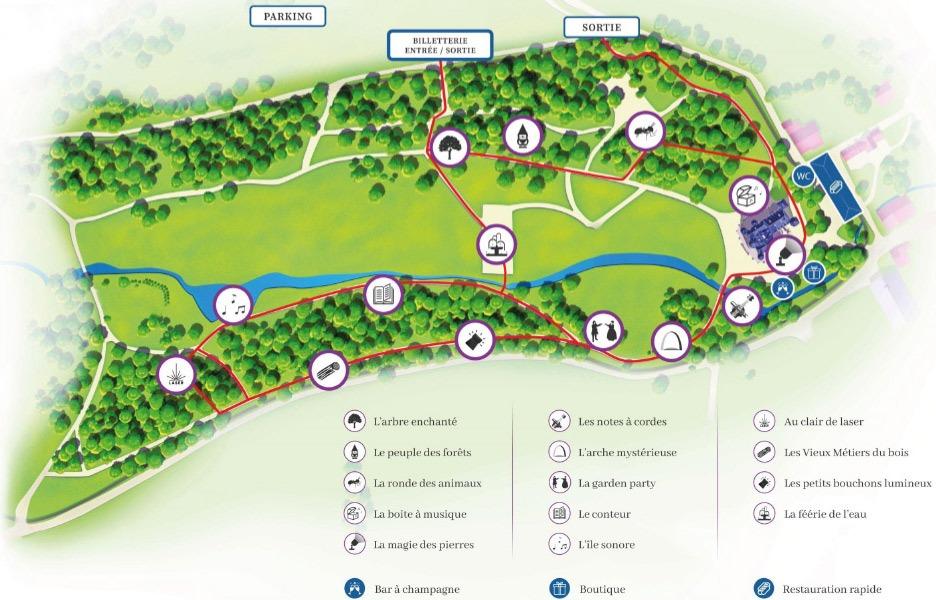 La Balade Merveilleuse au Château de Thillombois un parcours libre 2021