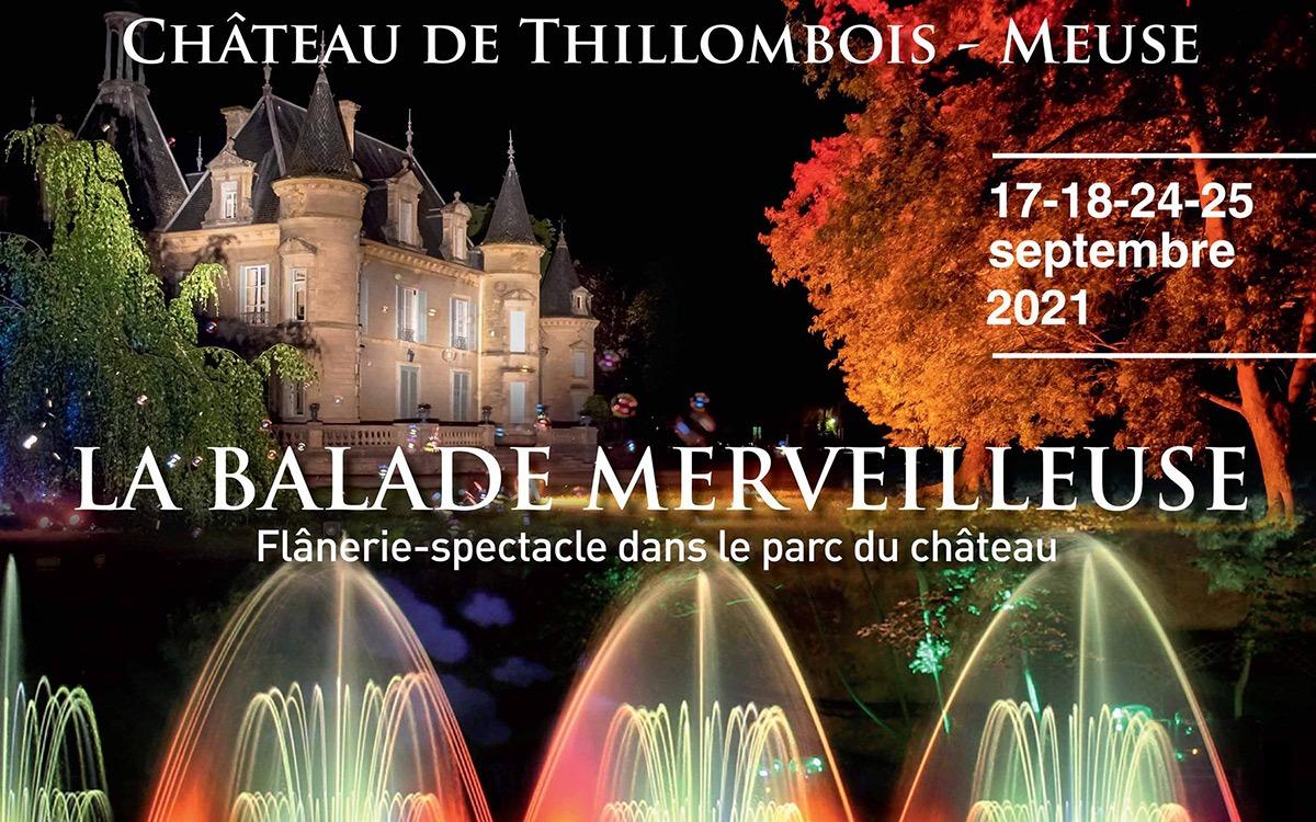 La Balade Merveilleuse au Château de Thillombois 2021